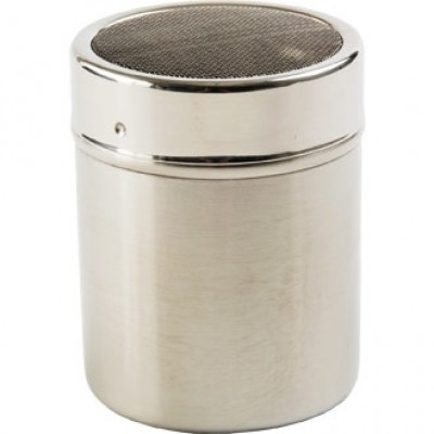 Stainless Steel Shaker with Fine Mesh Top