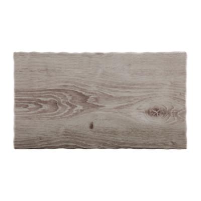 Wood Effect Melamine Tray GN1/3
