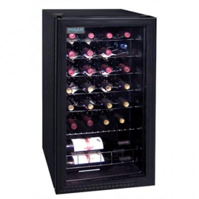Polar CE203 20 Bottle Commercial Wine Cooler - Black