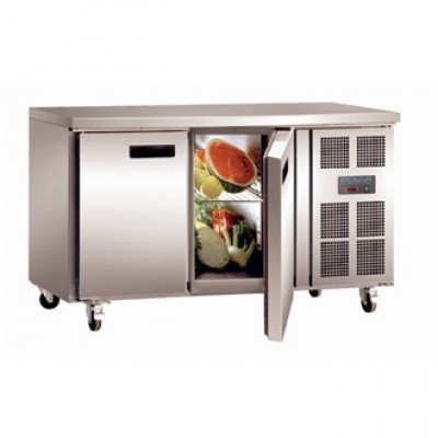 Polar G377 Counter Refrigerator - Stainless Steel