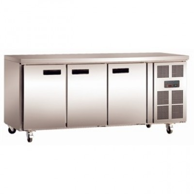 Polar G378 Counter Refrigerator - Stainless Steel