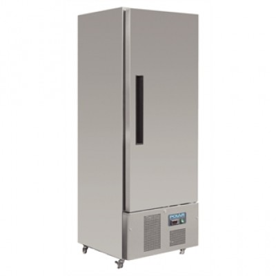 Polar G590 Upright Fridge - Stainless Steel