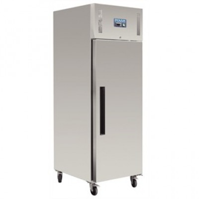 Polar G592 Upright Fridge - Stainless Steel