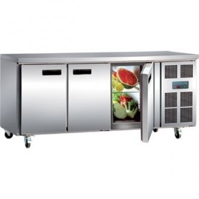 Polar G597 Counter Gastro Fridge - Stainless Steel