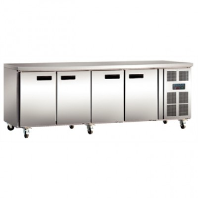 Polar G598 Counter Gastro Fridge - Stainless Steel