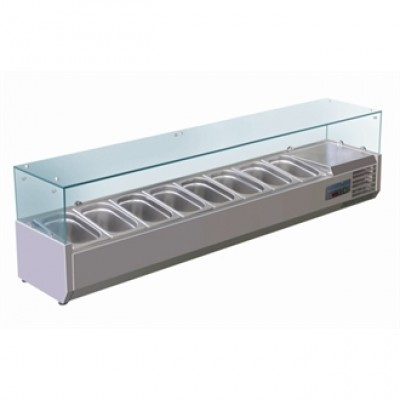 Polar G610 Counter Top Prep Unit - Stainless Steel