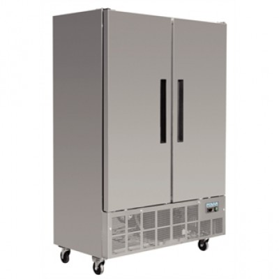 Polar GD880 Slimline Freezer - Stainless Steel