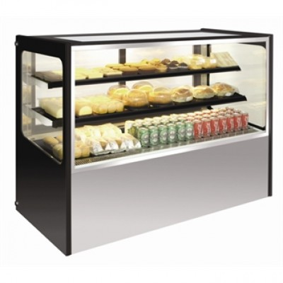 Polar GG218 Refrigerated Deli Showcase - Stainless Steel