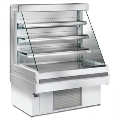GG470 Zoin Grab and Go Multideck Display Cabinet - White