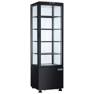 Polar DP289 Chilled Display with Curved Glass Door
