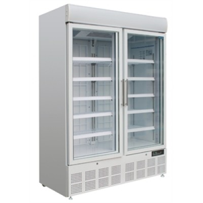 Polar GH507 Display Freezer - White