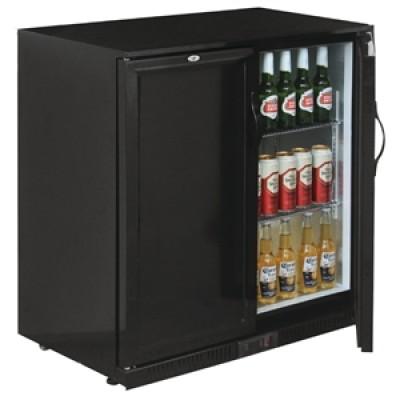 Polar GL016 Back Bar Cooler Double Solid Hinged Door