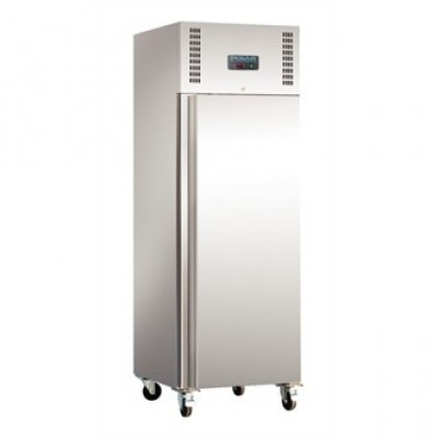 Polar U632 Upright Fridge - Stainless Steel
