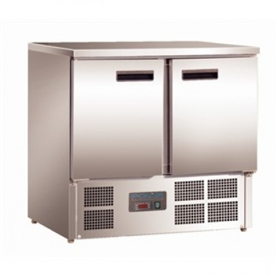 Polar  U636 Compact Gastro Fridge - Stainless Steel