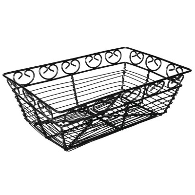 Olympia Black Wire Condiment Basket