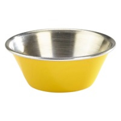 GenWare 1.5oz Stainless Steel Ramekin Yellow
