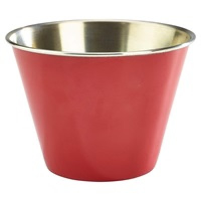 GenWare 12oz Stainless Steel Ramekin Red