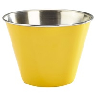GenWare 12oz Stainless Steel Ramekin Yellow