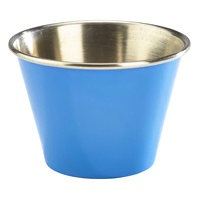 GenWare 2.5oz Stainless Steel Ramekin Blue