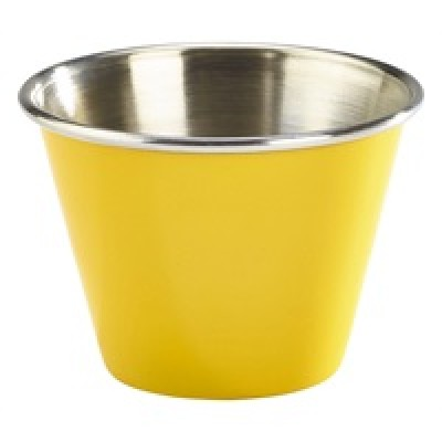 GenWare 2.5oz Stainless Steel Ramekin Yellow