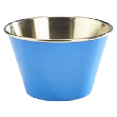 GenWare 6oz Stainless Steel Ramekin Blue