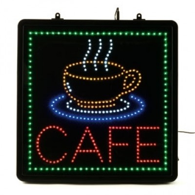 LED - Cafe - Display Sign