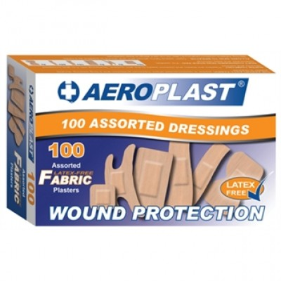 Aeroplast Assorted Latex-Free Plasters