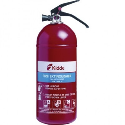 Kidde Fire Extinguisher - Multi Purpose (A,B, C and electrical fires)