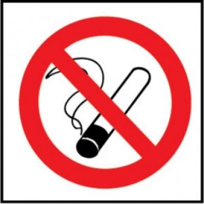 No Smoking Symbol Sign.