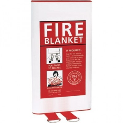 Quick Release Fire Blanket