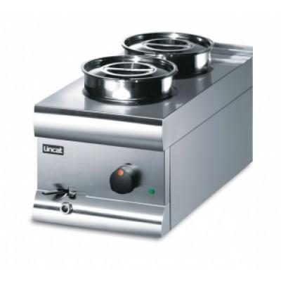 BS3W Lincat Wet Heat Bain Marie - With Pots