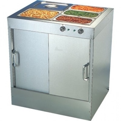 Buffalo G045 Hot Cupboard with Bain Marie Top