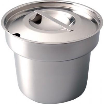 Bain Marie Pot and Lid - 4 Litre