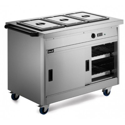 P8B3 Lincat Panther Hot Cupboard & Bain Marie Top -