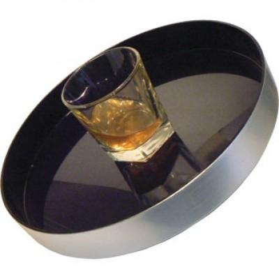 Round Non Slip Drinks Tray