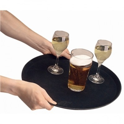 Round Anti-Slip Tray