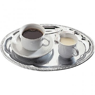 Coffee House Tray - Oval, 30 x 22cm.