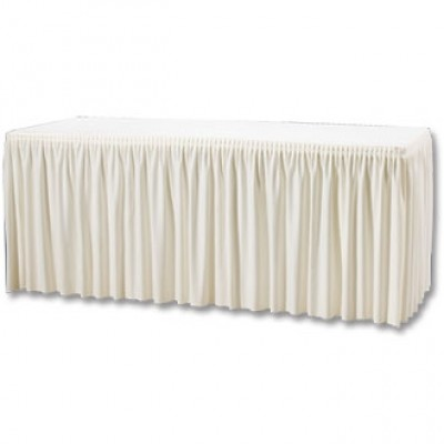 Table Top Cover & Skirting - Plisse Style