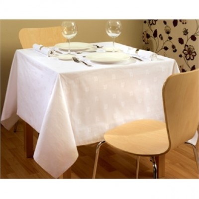 Damask Ivy Leaf Tablecloth