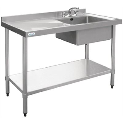 Vogue Stainless Steel Sink - 1000 x 600mm