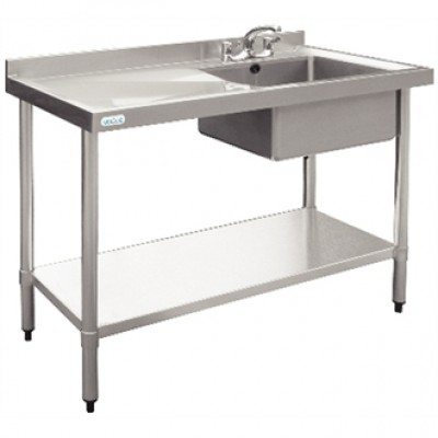 Vogue Stainless Steel Sink - 1200 x 600mm