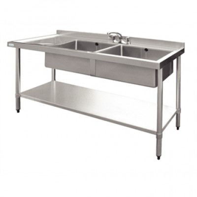 Vogue Stainless Steel Sink - 1500 x 600mm