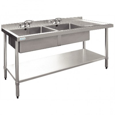 Vogue Stainless Steel Sink - 1800 x 600