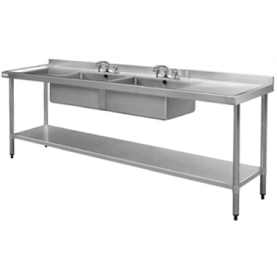 Vogue Stainless Steel Sink - 2400 x 600mm