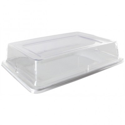 Wide Rim Rectangular Platter