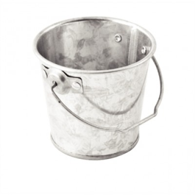 Round Galvanised Steel Bucket