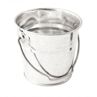Round Galvanised Steel Bucket