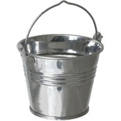 Stainless Steel Serving Bucket - 12.5cl