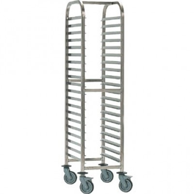 Bourgeat Gastronorm Racking Trolley