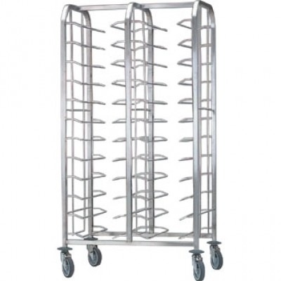 Bourgeat Self Clearing Trolley - Double